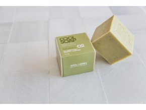 1534669666 2 Olive oil soap bar 230 gr with lavender and green clay 3